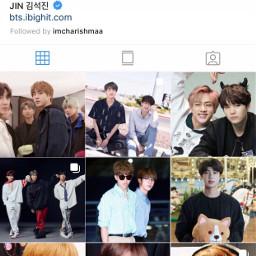 kimseokjin jin seokjin worldwidehandsome instagram
