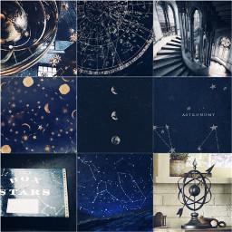 harrypotter aesthetic harrypotteraesthetic astronomy blue