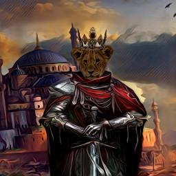 freetoedit king lion sword kingdom irckingofthejungle