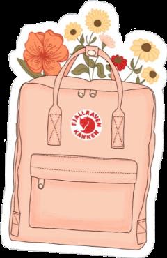 vsco aesthetic flowers backpack kanken freetoedit