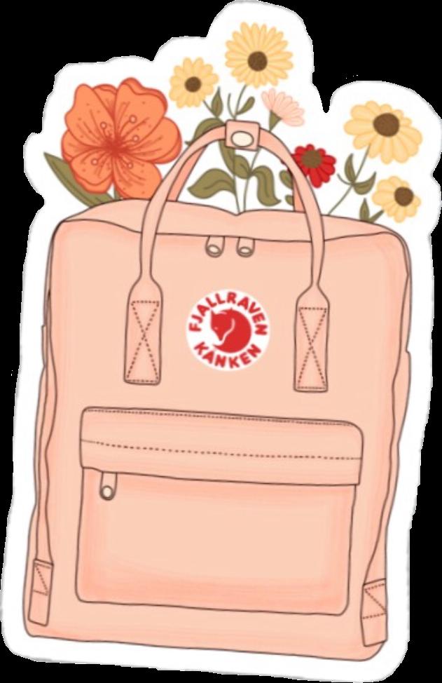 #vsco #aesthetic #flowers #backpack #kanken #spring #summer #freetoedit