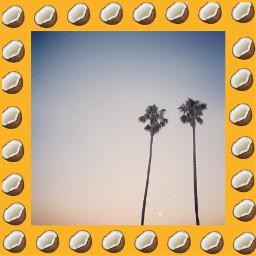 freetoedit coconut emoji remix