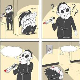 freetoedit meme template serial killer