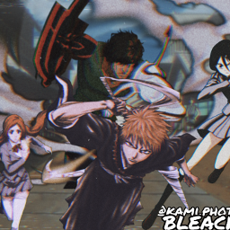 bleach freetoedit anime wallpaper