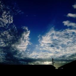 freetoedit clouds sky photobyme blue