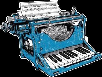 #blue #piano #write #music #freetoedit