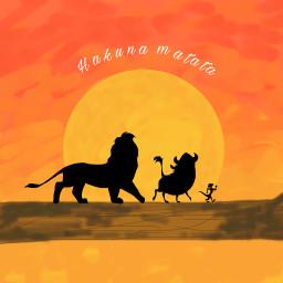 lion lionking simba timon pumbaa