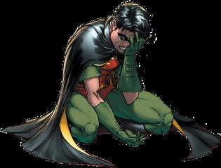 robin timdrake batman identity crisis dc freetoedit