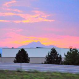 pcmajesticmountains majesticmountains moutain sky sunset