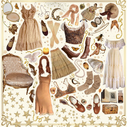polyvore niche moodboard png neutral freetoedit
