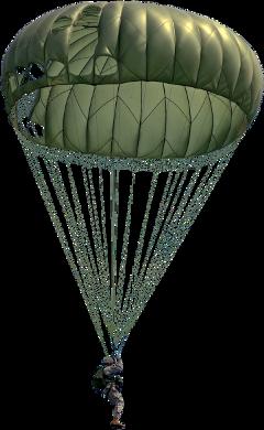 parachute military army freetoedit