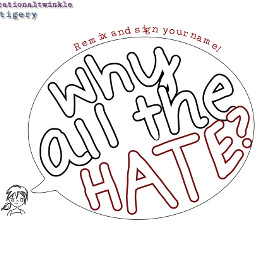 whyallthehate stop hate remixit help freetoedit