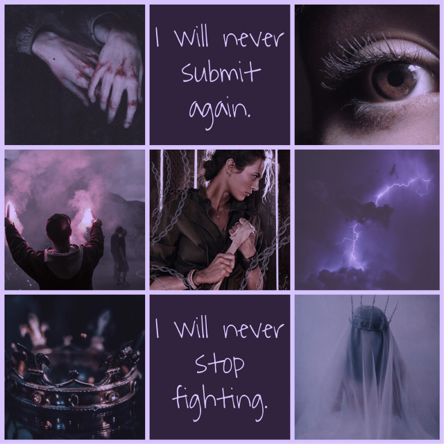 "Mare Barrow ~ ""I will never submit again. I will never stop fighting."" #mare #barrow #marebarrow #redqueen #glasssword #kingscage #warstorm #scarletguard #riseredasthedawn #redasthedawn #princesstitanos #lightning #electricon #norta #stilts #red #purple #newblood #edit #lightninggirl #freetoedit"