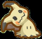 mimikyu pokemon ghost type freetoedit