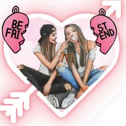 freetoedit bffs4ever love