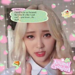 jinsoul loona softedit animalcrossing kpop freetoedit
