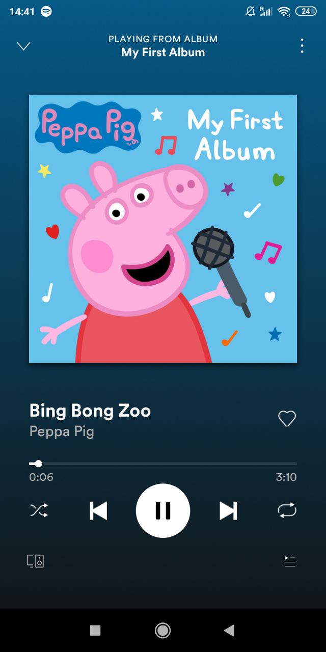 This album is the best this is one of my personal favourite songs bing bong zoo it's just so amazing   #peppapig #peppapigmeme #album