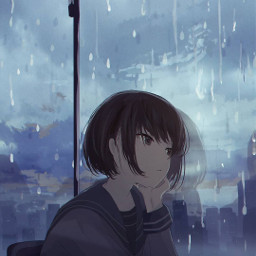 freetoedit interesting sad anime animegirl