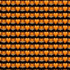 фон стикер лиса радуга оранжевый freetoedit