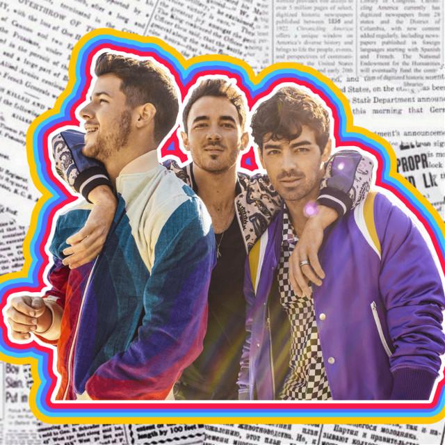#freetoedit #jonas #brothers #cool #rainbow