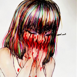 pain hurts songs flowers red screaming