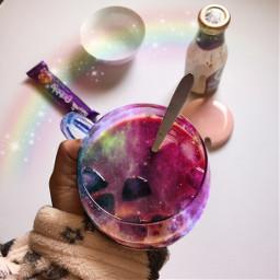 magic galaxysticker galaxycoffee cute cool freetoedit