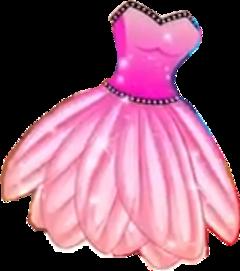 dress fairy pink glamour freetoedit