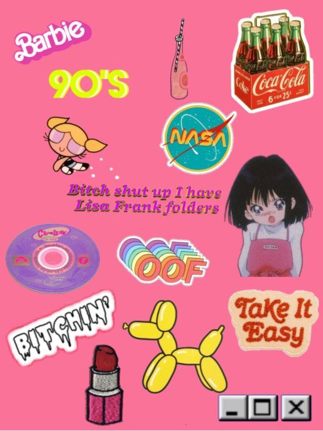 Freetoedit 90s 90 S 90skid Wallpaper Background Pink