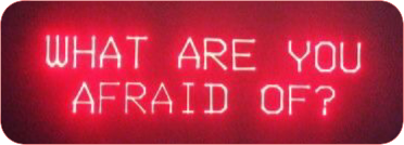 red neon fear grunge scary freetoedit