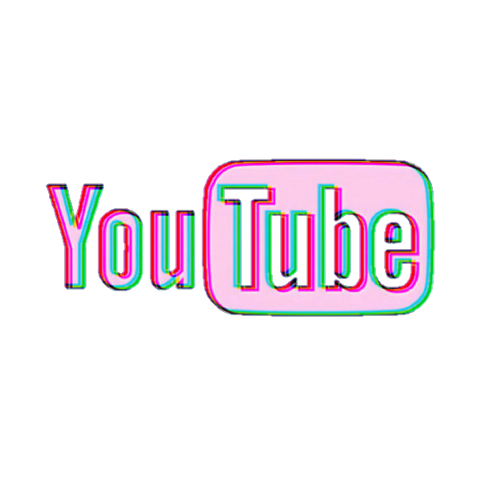 Stickers Tumblr Youtube Logo Aesthetic | aesthetic guides