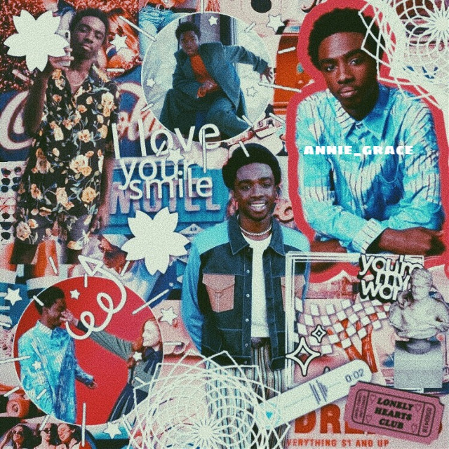 caleb❤️ an edit no one asked for but he is so underrated omg! he deserved more screen time in s3 along with Noah (Will)   apps: picsart,vsco colors: 🔴⚪️🔵  #strangerthings #strangerthings3 #calebmclaughlin