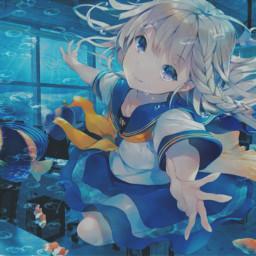 freetoedit anime animegirl school classroom schooluniform