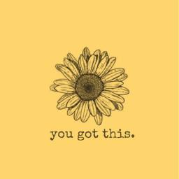 freetoedit sunflower aesthetic wallpaper inspirational