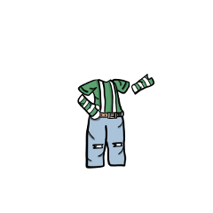 boyoutfit gloves jeans gacha suspenders freetoedit