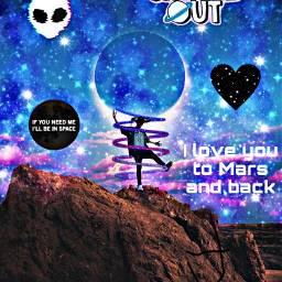 corbynbesson space mars alien galaxy freetoedit