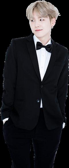 bts bangtan suit korean black freetoedit