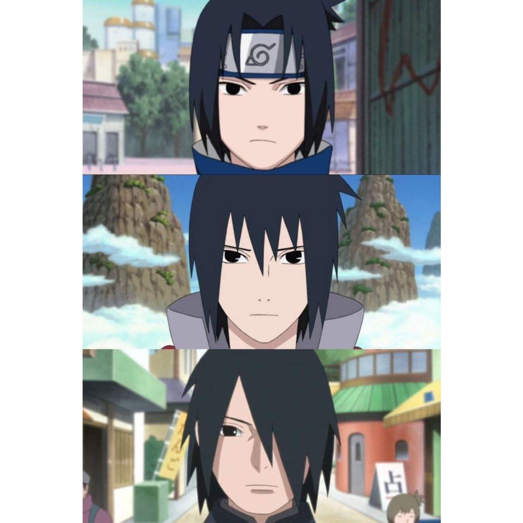 Happy Birthday to this lil ball of darkness 😌🖤 * * * * ~Tags: #Naruto #Sasuke