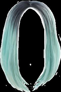 freetoedit colorfulhair hair cabelos bluehair
