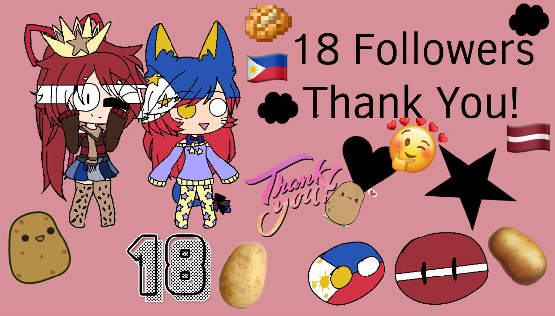 Thank you for 18 followers ^^ #latvia❤🇱🇻 #philippines2019 #thankyousomuch  #freetoedit
