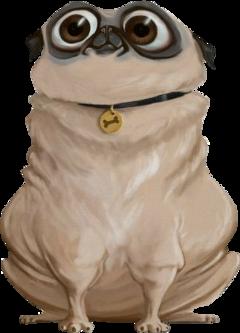 pug cartoonpug dog freetoedit