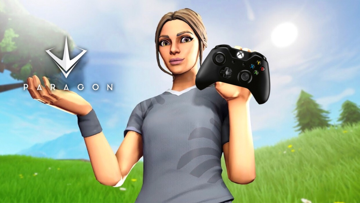 Fortnite Wallpaper Holding Xbox Controller