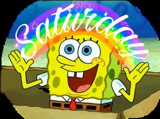 spongebob spongebobsquarepants bikinibottom imagination rainbow freetoedit scsaturday