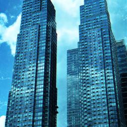 freetoedit blue blueaesthetic aesthetic city