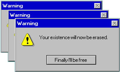 warning window windows windows95 ventana freetoedit