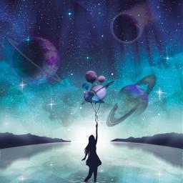 freetoedit galaxy srcplanetballoons planetballoons