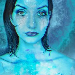 freetoedit blue galaxy blueaesthetic galaxyaesthetic