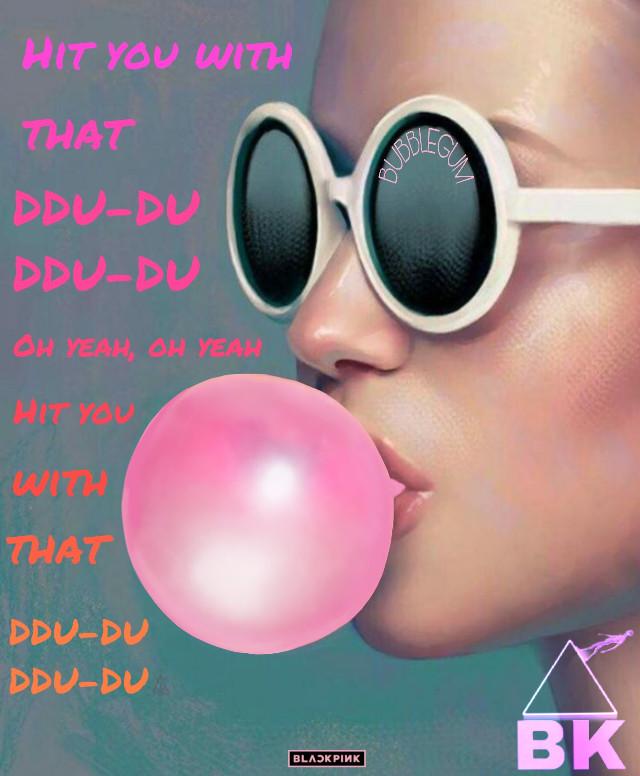 """""""Hit you with that DDU-DU DDU-DU"""" I love that part of the song! #freetoedit"""