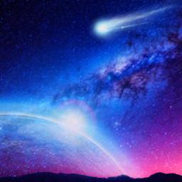 freetoedit galaxy fallingstar fallingstars earth
