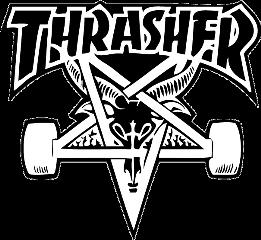 thrasher skateboarding skateboard skate logo freetoedit scskateboards