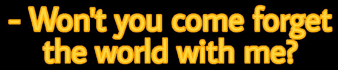 Yellow Subtitle Font